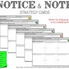 Notice and Note Reading Strategy Cards.  I created these reading strategy cards based on the book, Notice and Note: Strategies for Close Reading, b...