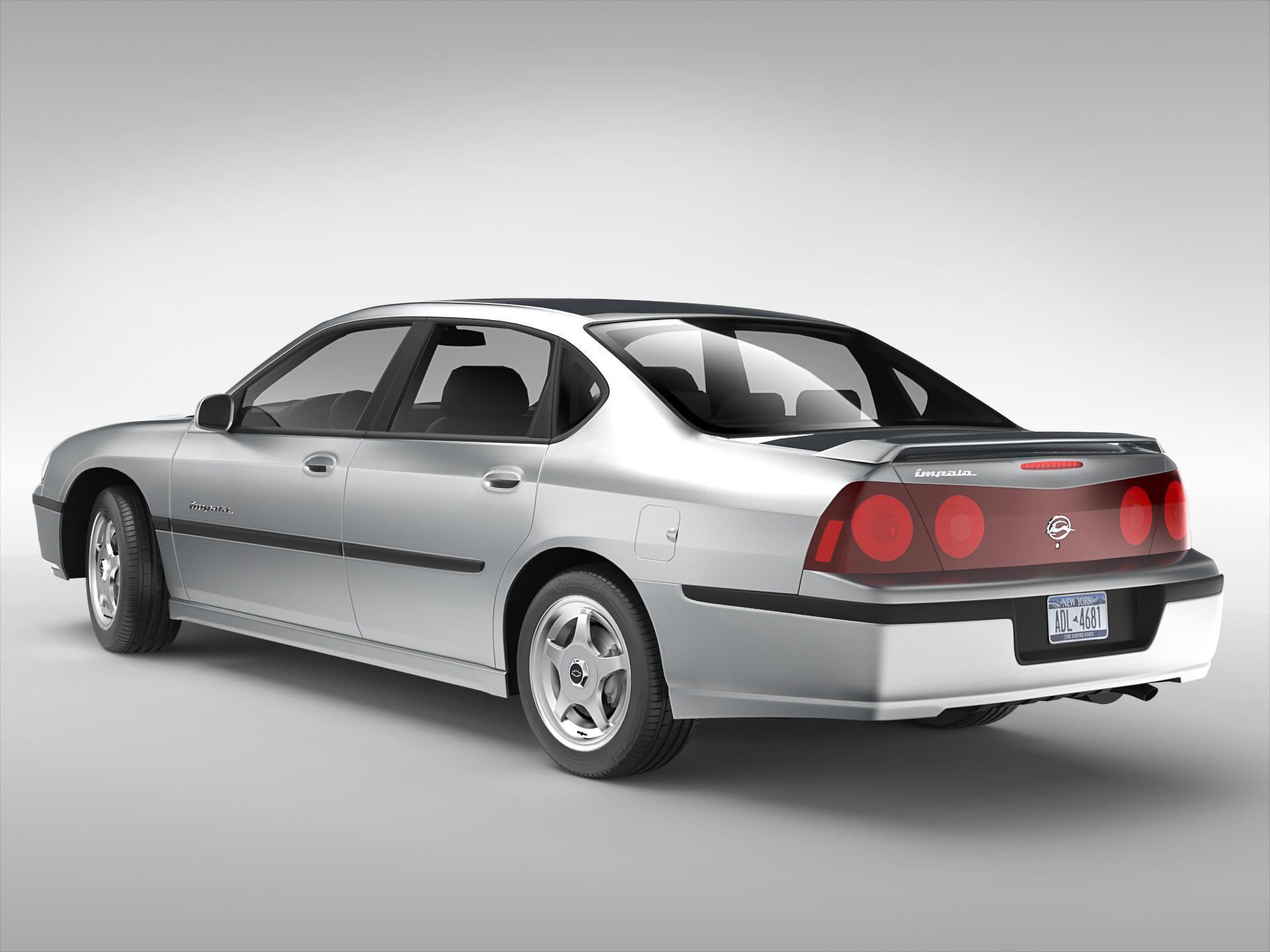 Chevrolet Impala 2000 2005 3d Model Ad Impala Chevrolet Model Chevrolet Impala Impala Chevy Impala