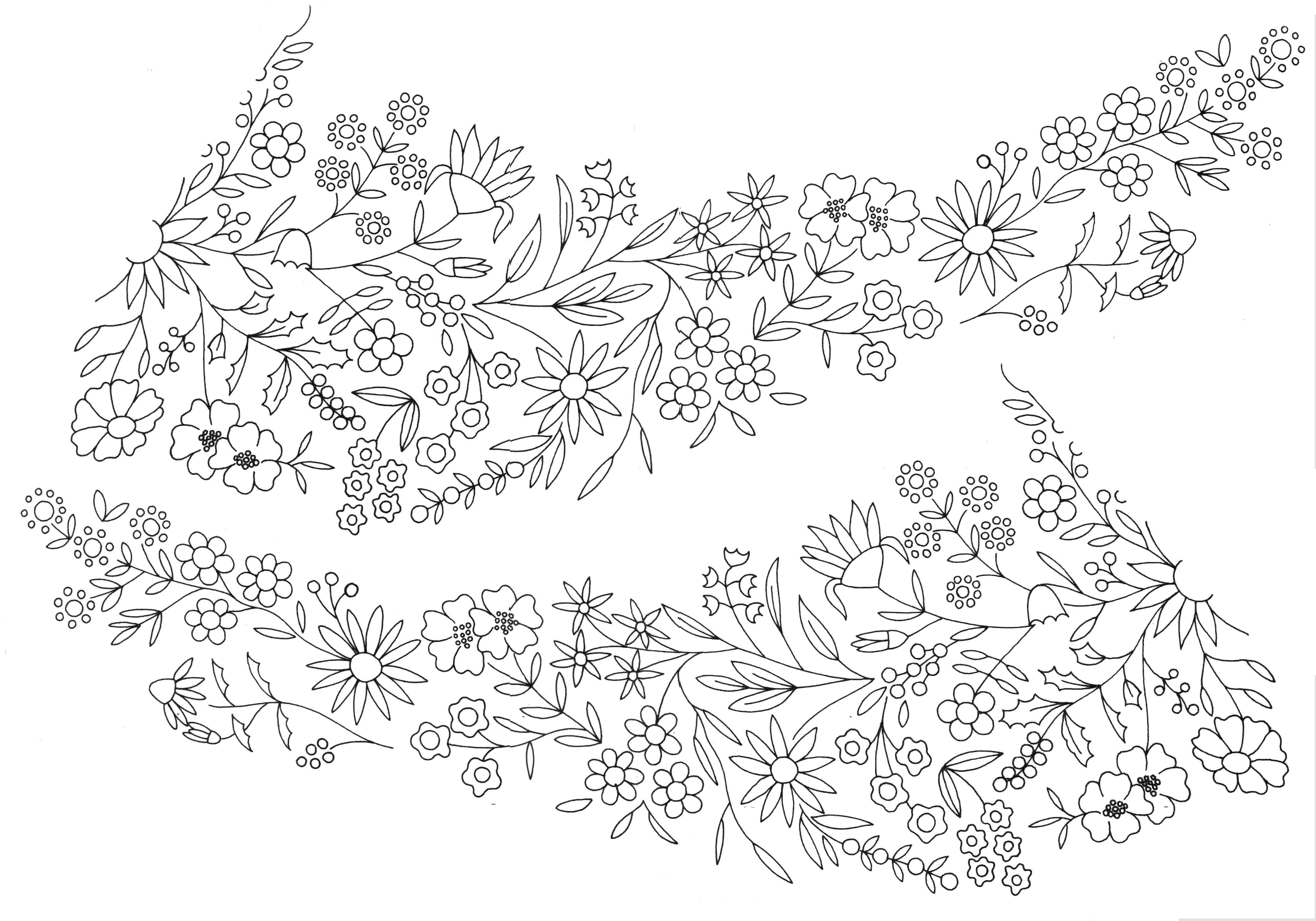 Embroidery Pattern | Em pattern | Pinterest | Bordado, Puntadas y Dibujo