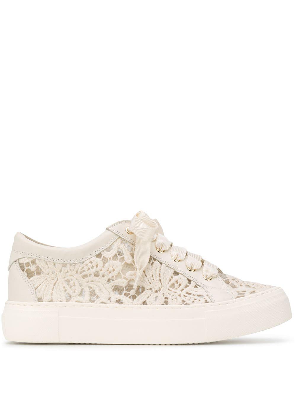 AGL Lace Design Sneakers - Farfetch in
