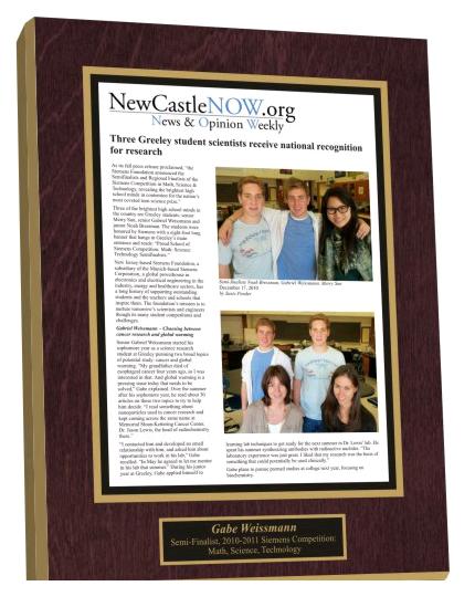 Online articles can be framed too!! | Blog: Custom Framed Article ...