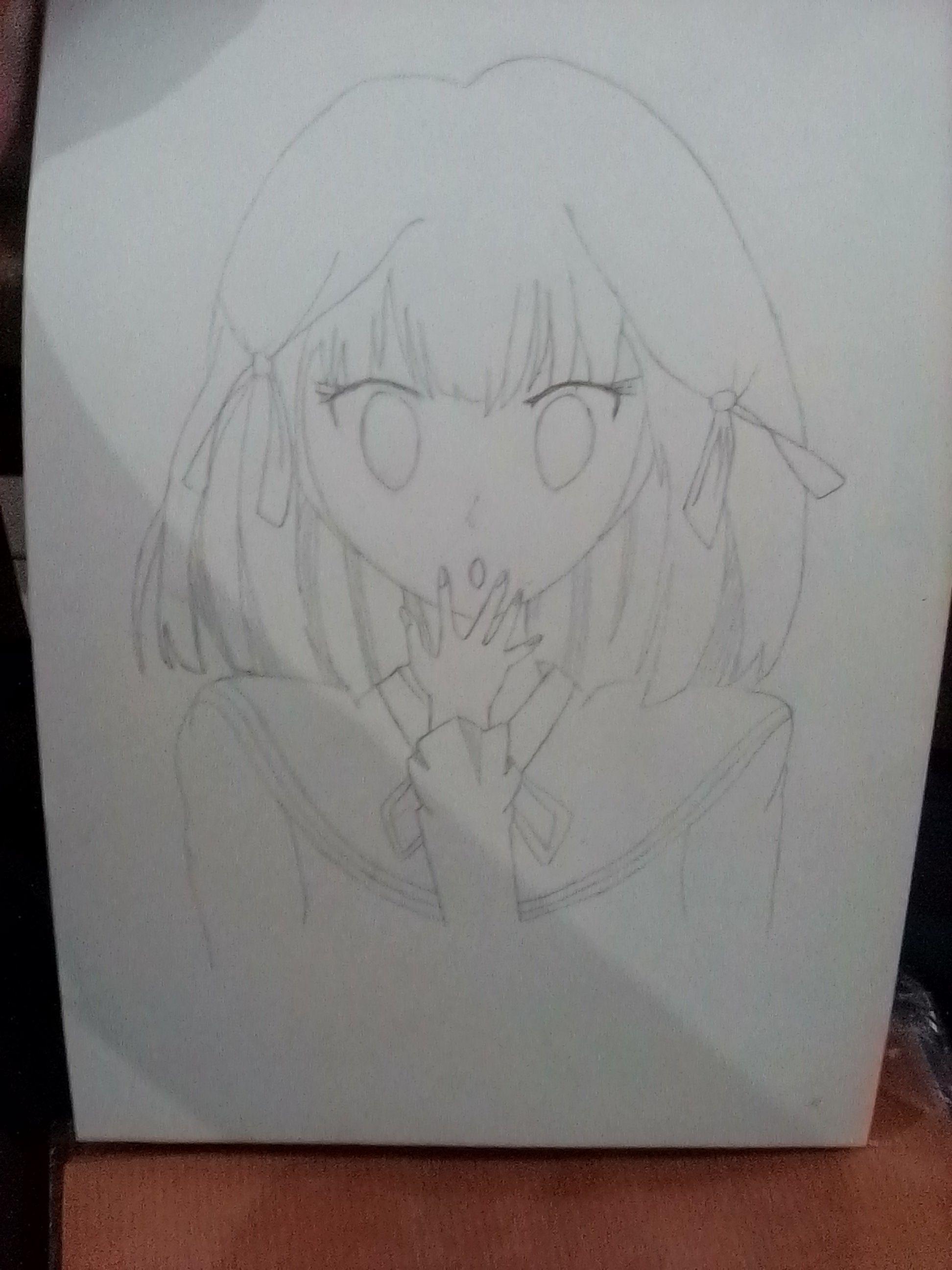 Drawing art anime cute girl 😘 Anak kucing lucu, Anak