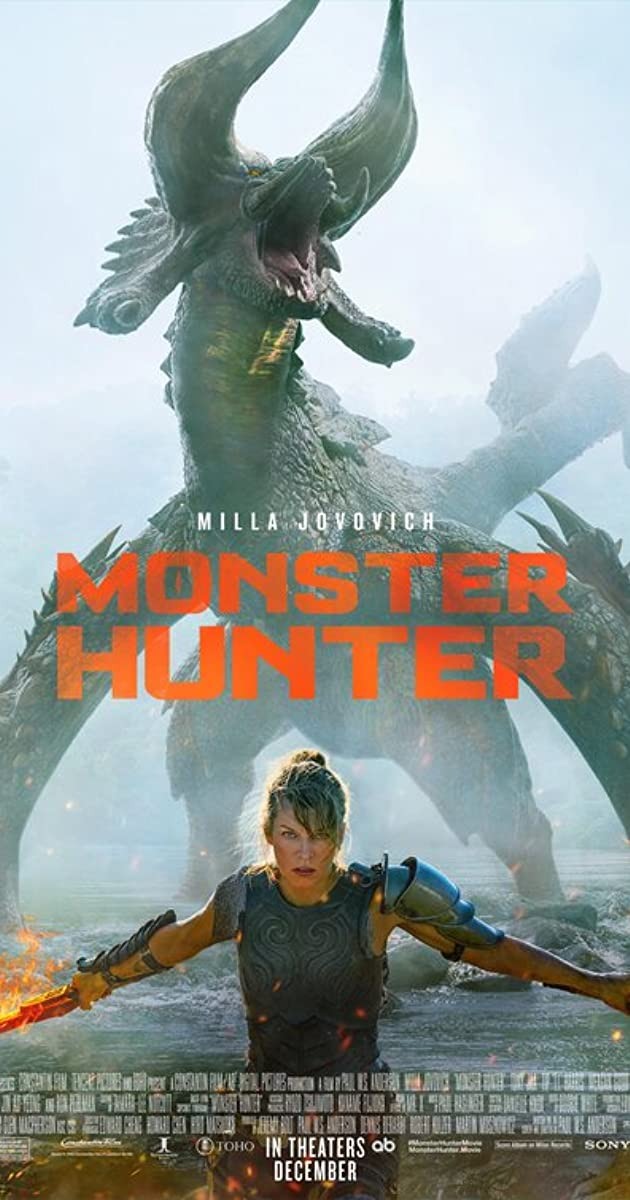 Directed By Paul W S Anderson With Milla Jovovich Tony Jaa T I Meagan Good When Lt Artemis And Her L In 2020 Monster Hunter Movie Monster Hunter Milla Jovovich
