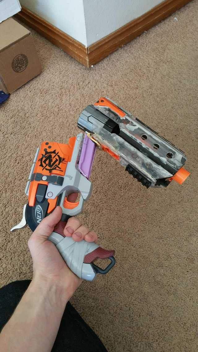 Break Action Rear Loading Hammershot Wip Nerf Mods Cool Nerf