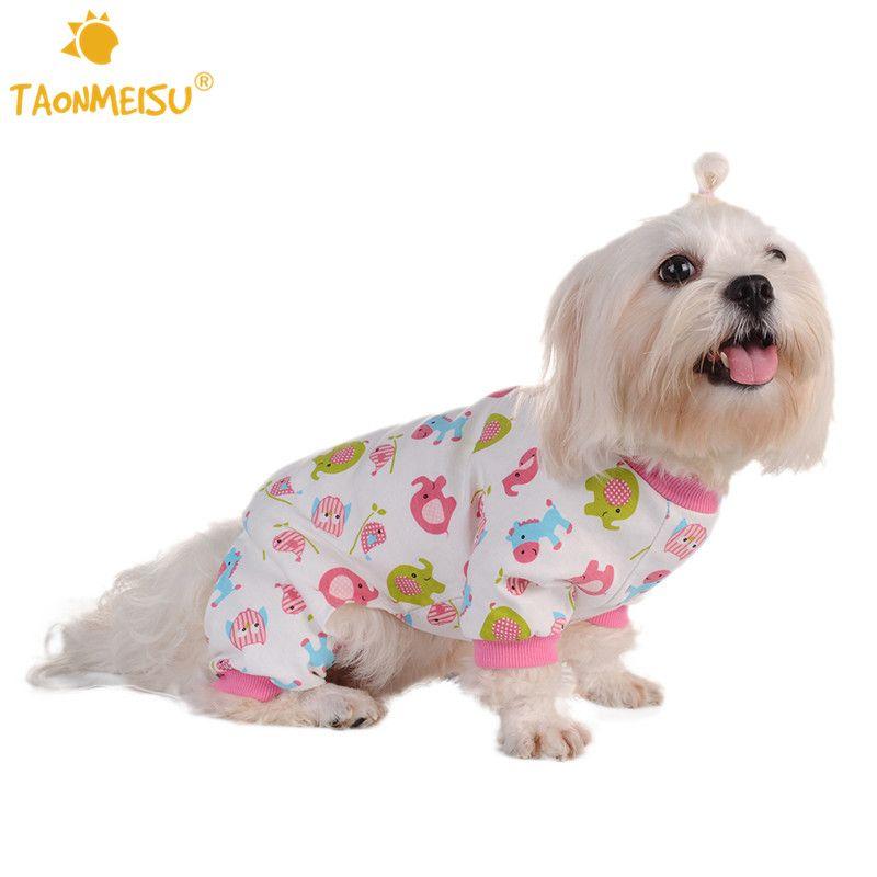 Taonmeisu Cute Dog Pajamas Soft Warm Cozy Small Horse Printing