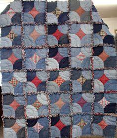 Quilt Inspiration: Free pattern day ! Denim quilts | Blues ... : free denim quilt patterns - Adamdwight.com