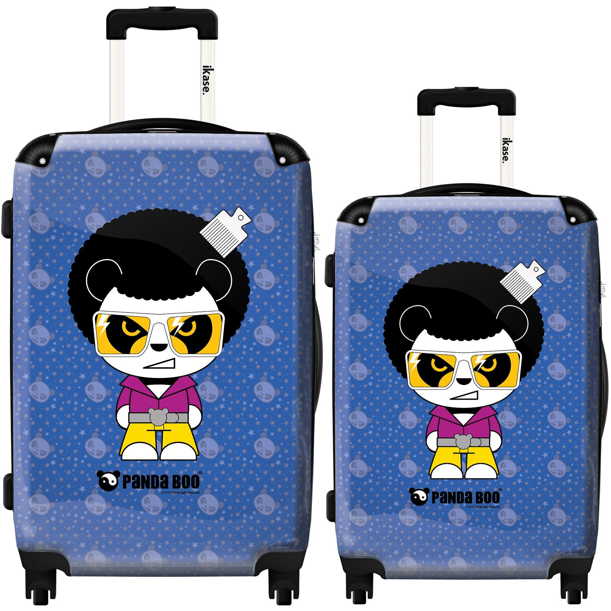 Suitcase Panda boo, Funky