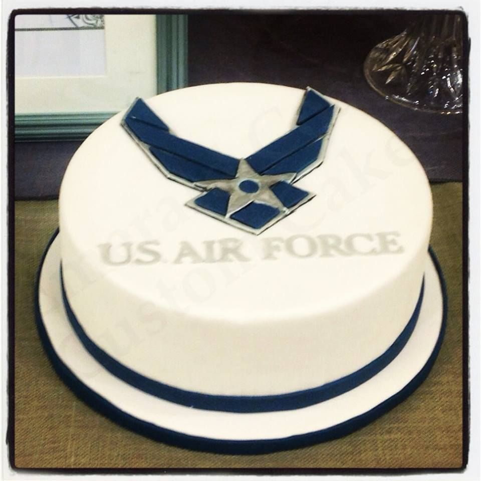 Air Force Groom S Cake By Heather Lester Pelham Of Emerald Coast