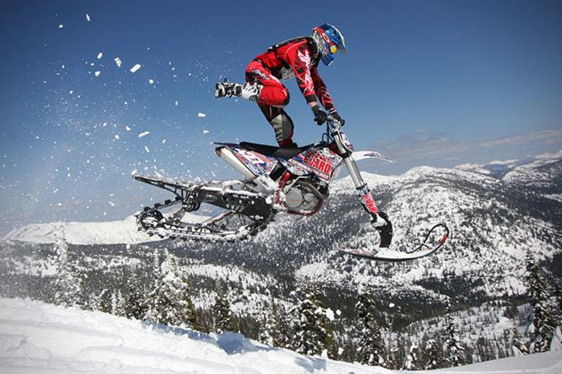 Snow Dirt Bike | Timbersled Mountain Horse: Dirt Bike Snow