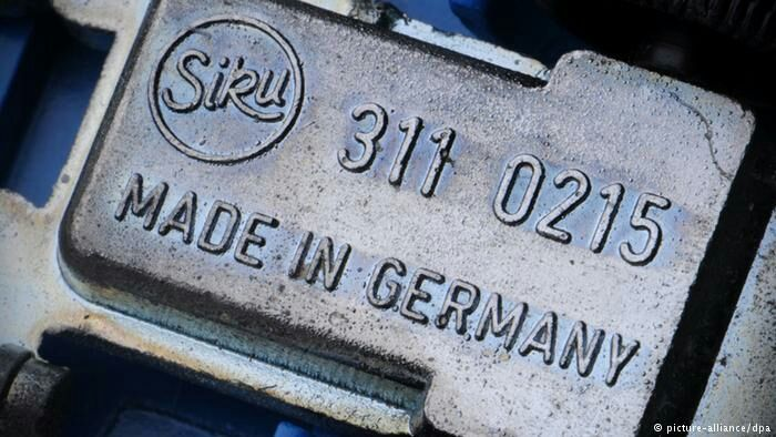 Wohoo 🎉 Did you know where the label came from? 😊   125 years of ′Made in Germany′