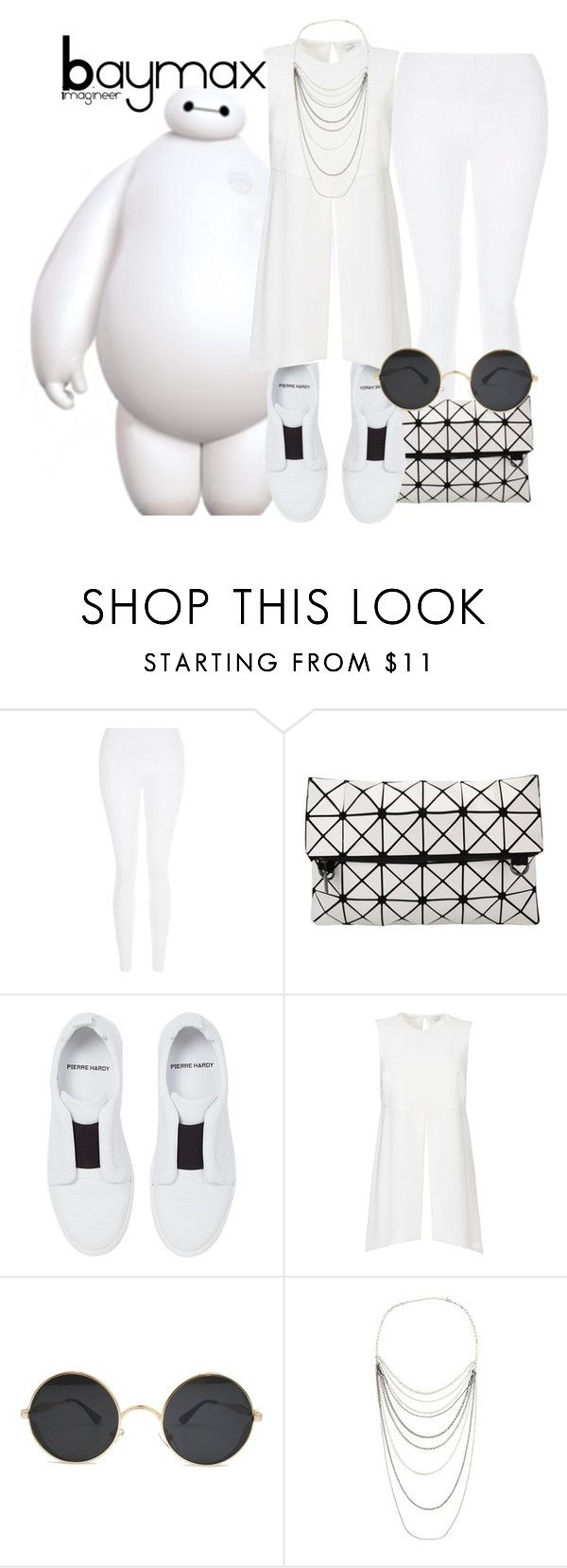 """Baymax (Big Hero 6)"" by claucrasoda ❤ liked on Polyvore featuring New Look, Pierre Hardy, Elizabeth and James, Arden B., Leggings and WardrobeStaples"
