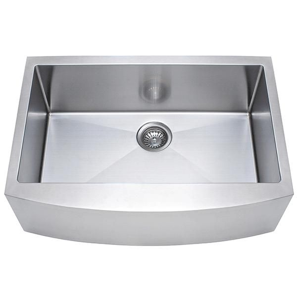 Franke USA FFS30B 10 18 30 Inch Farmhouse Kitchen Sink 30 Inch Cabinet!
