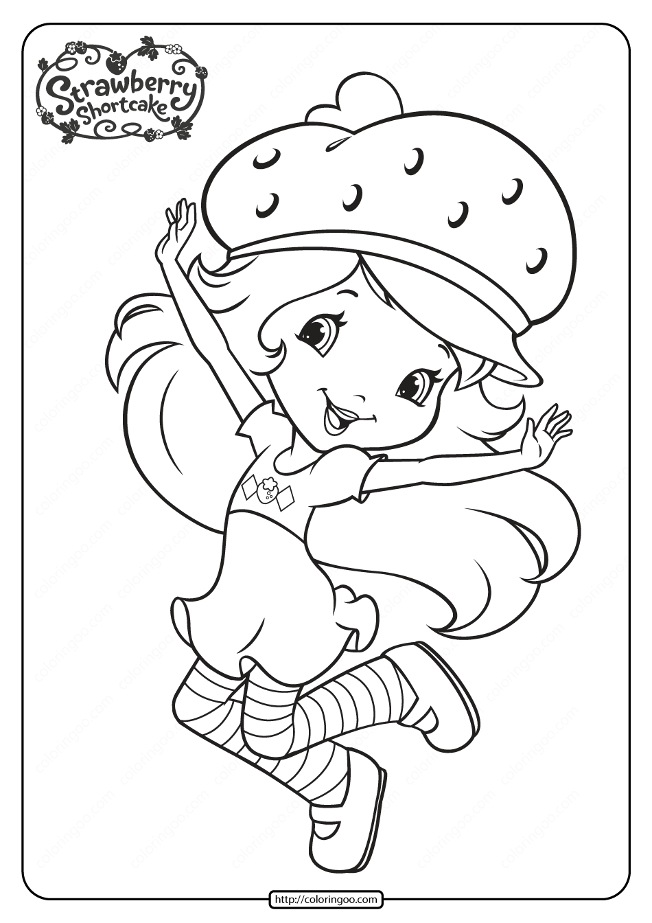 Printable Strawberry Shortcake Coloring Pages 14 Strawberry Shortcake Coloring Pages Coloring Pages Strawberry Shortcake Cartoon [ 1344 x 950 Pixel ]