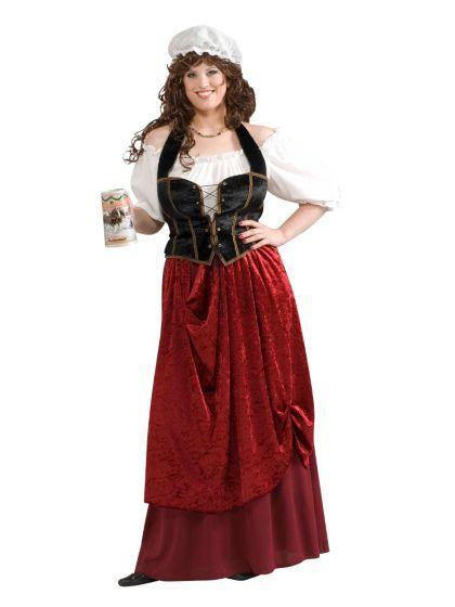 1e5dee2e382 Adult Tavern Wench Plus Costume