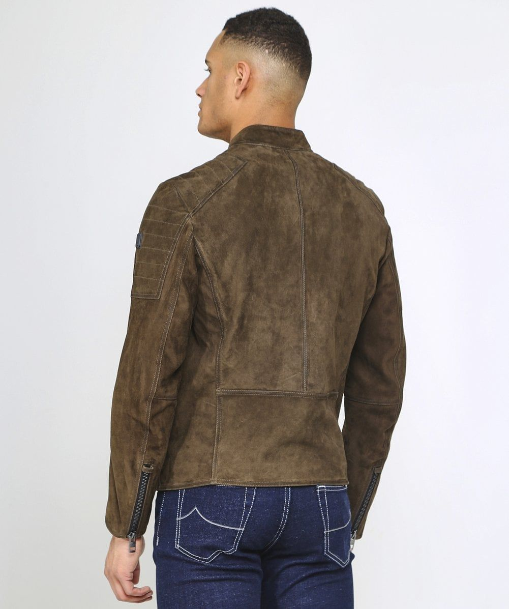 f537962ae HUGO BOSS Jaydee, Suede Jacket | Men Leather Jacket in 2019 ...
