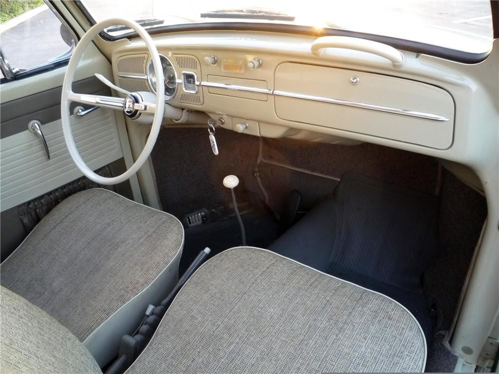 1965 Volkswagen Beetle 2 Door Sedan Interior 130355 Volkswagen Beetle Sedan Volkswagen
