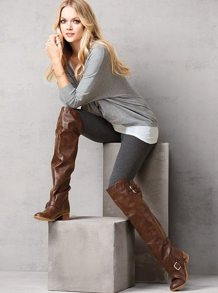 2013 Hottest Over Knee Riding Boots #over #knee #boots www ...