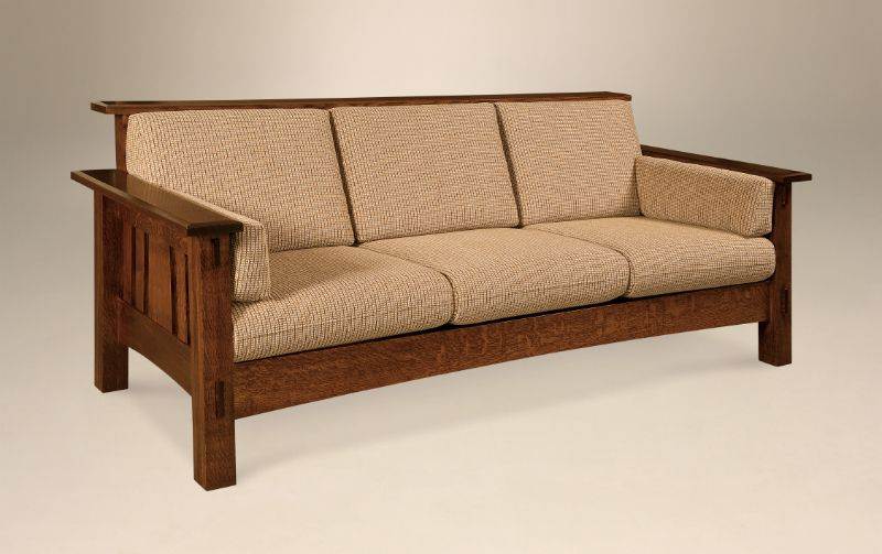 Best Mccoy Sofa With Images Amish Furniture Wooden Living 400 x 300