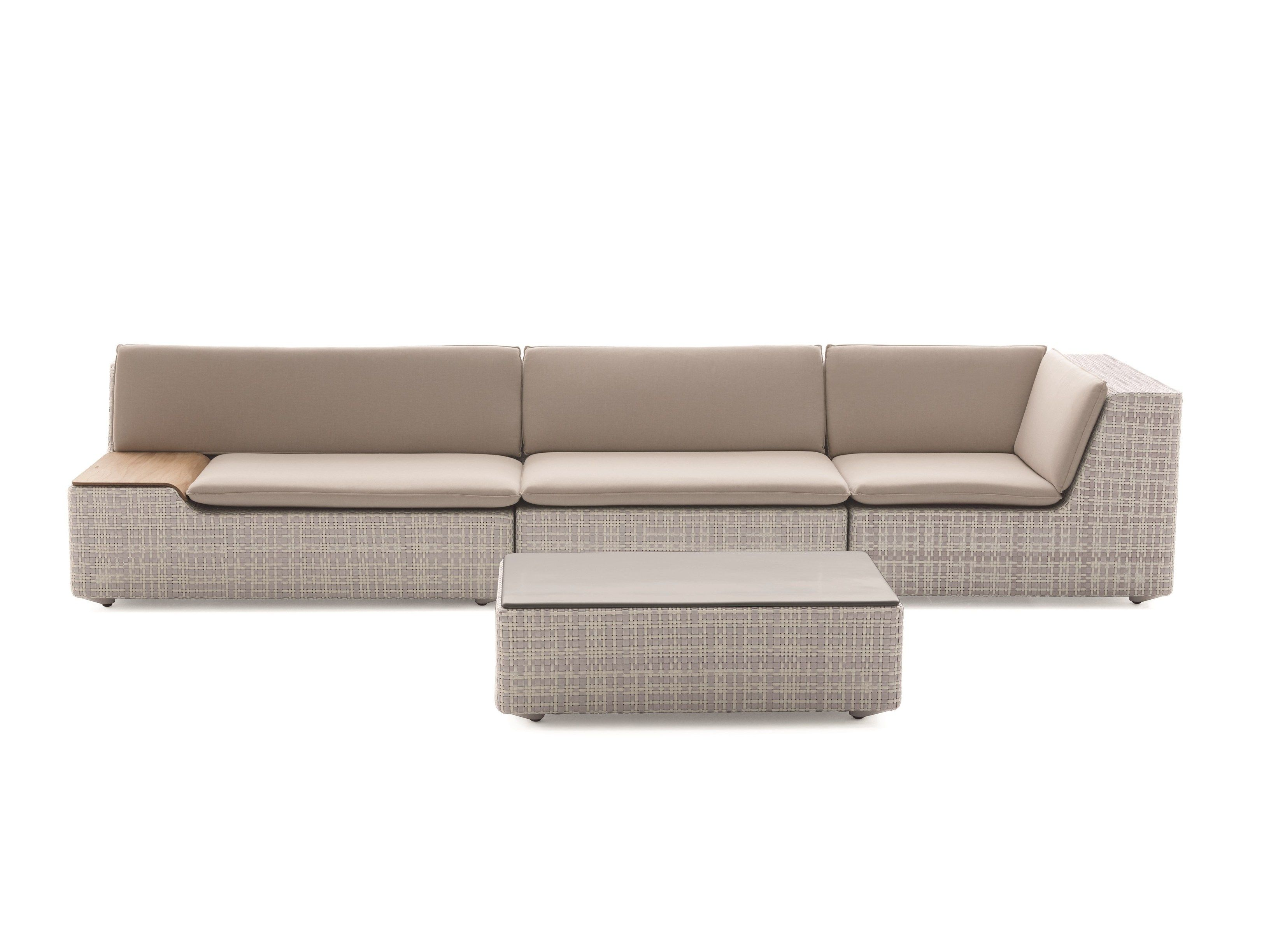 Outdoor Sofa Halbrund Lou Modular Sofa Lou Collection By Dedon Design Toan Nguyen