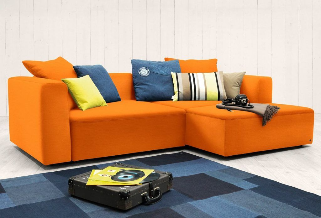 TOM #TAILOR #TOM #TAILOR #Polsterecke #S #HEAVEN #CASUAL #COLORS - Wohnzimmer Grau Orange