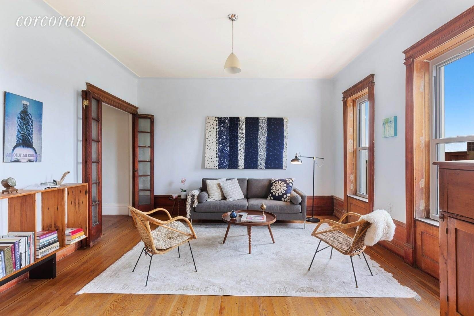 Crown Heights Walkup With Two Bedrooms, WellPreserved