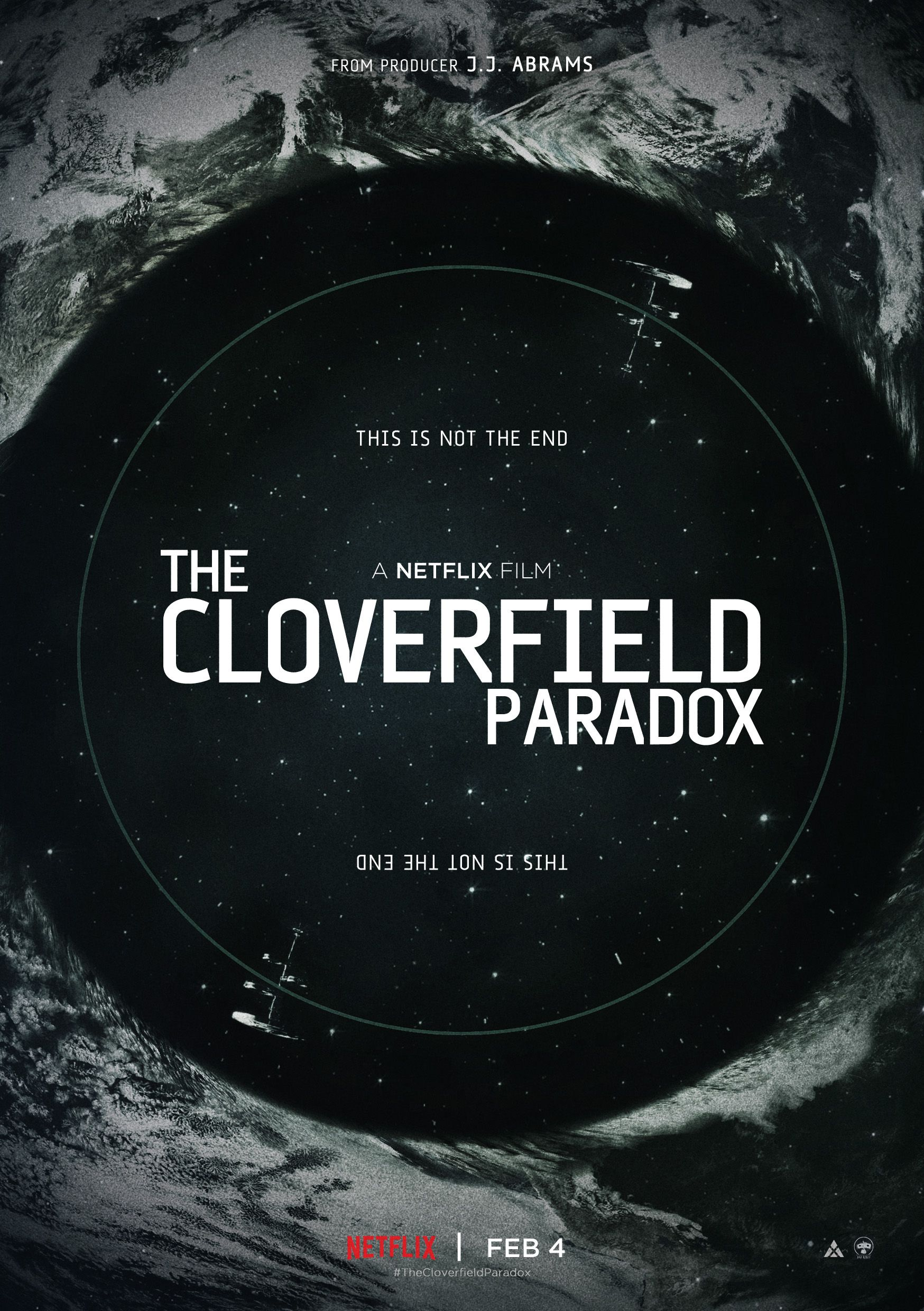 The Cloverfield Paradox - Poster by Alecxps | Film in 2019 | Movie