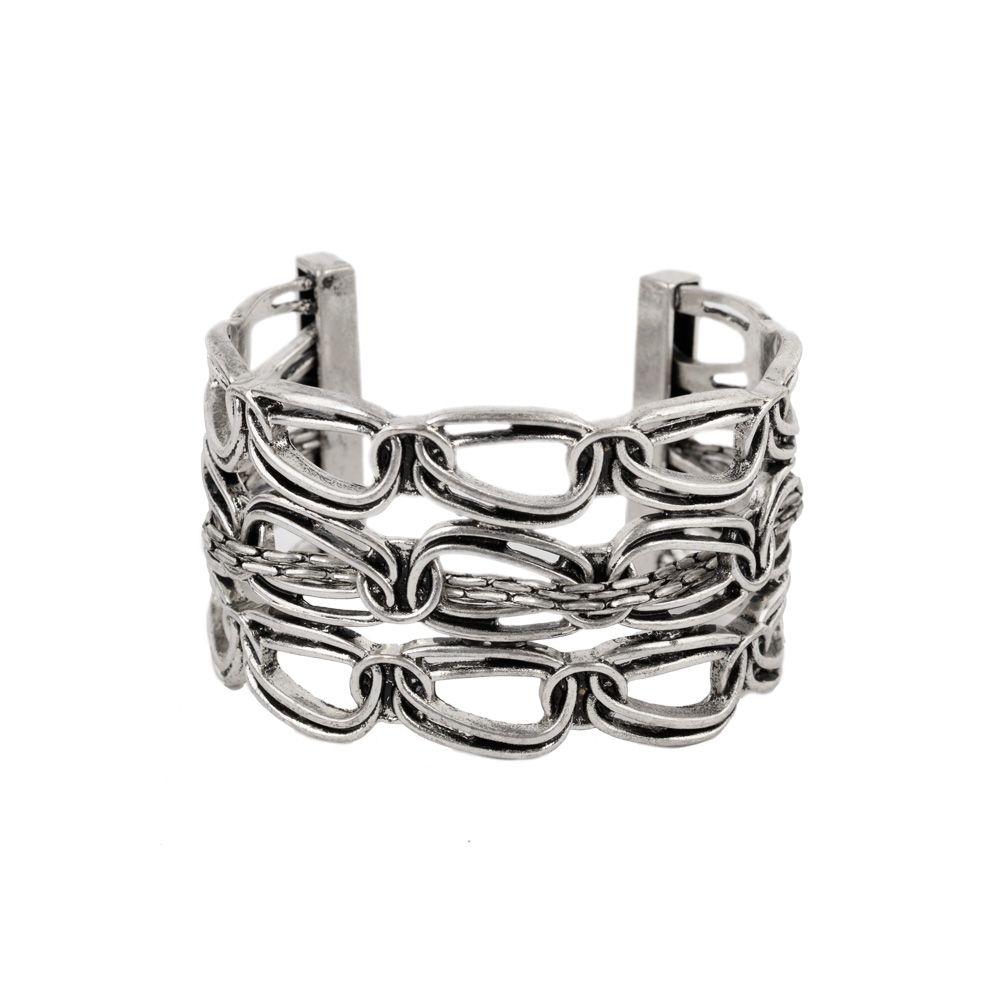 Jessica simpson chain cuff from littleblackbag silver
