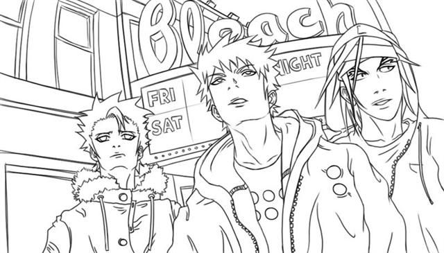 Bleach Coloring Pages,wallpapers,pictures | coloring | Pinterest