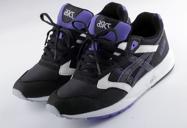 Mens Shoes ASICS Tiger GEL Saga Black Pro:Direct Running
