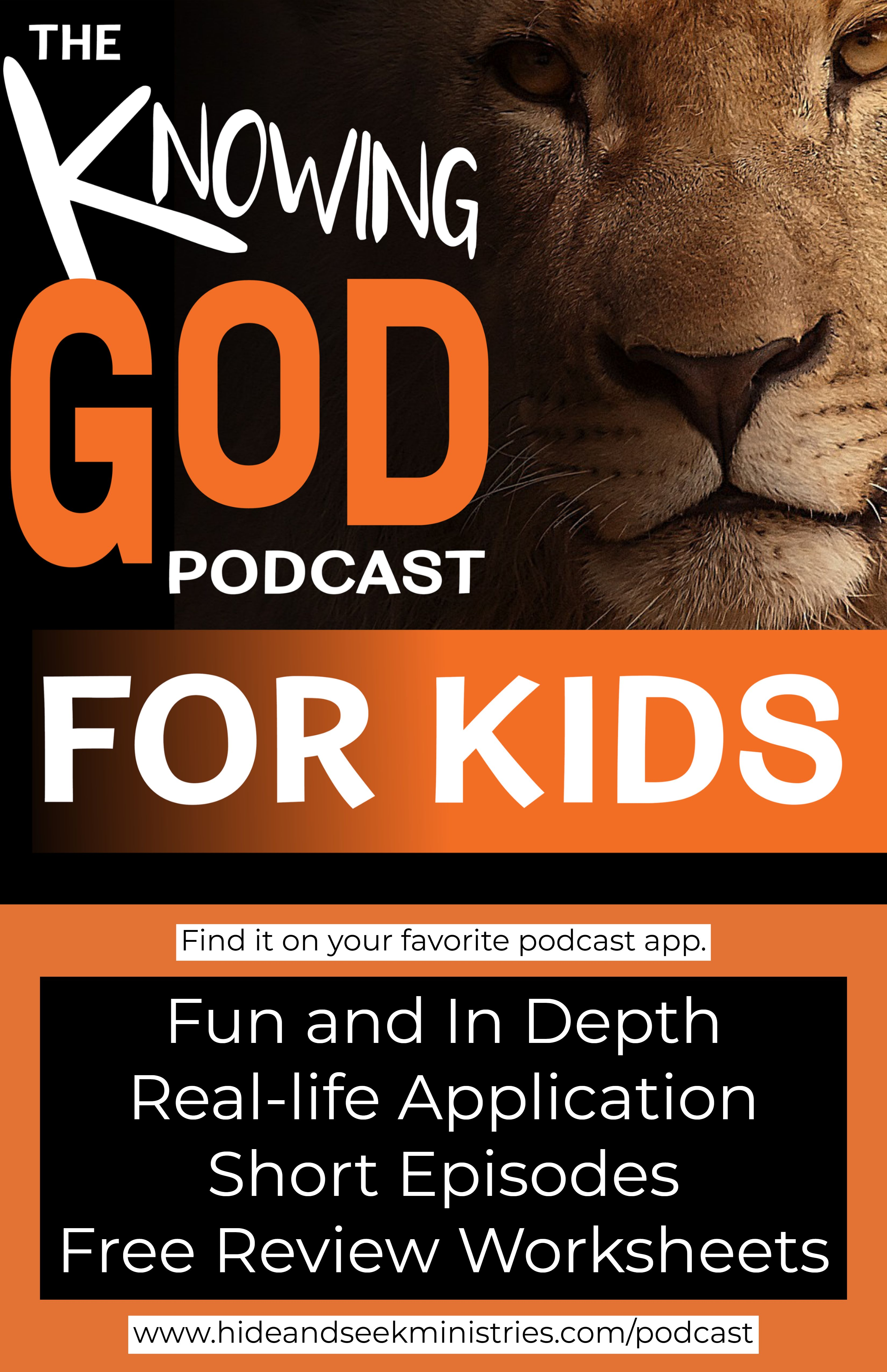 A fun and easy-to-understand podcast with in-depth bible study, real