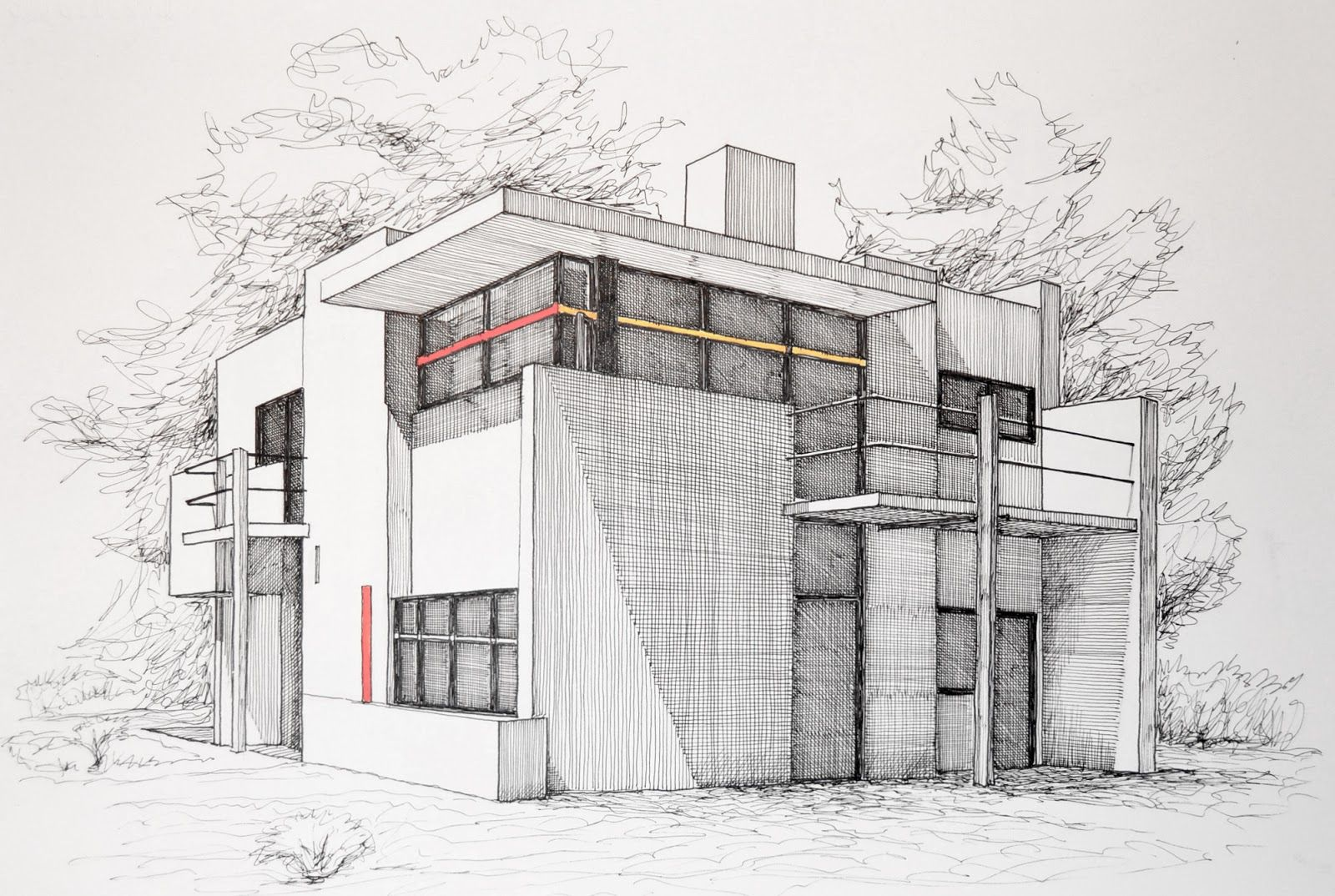 how to draw buildings like an architect