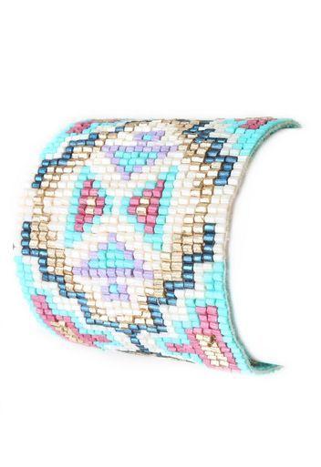 Seed Bead Pattern Bracelet