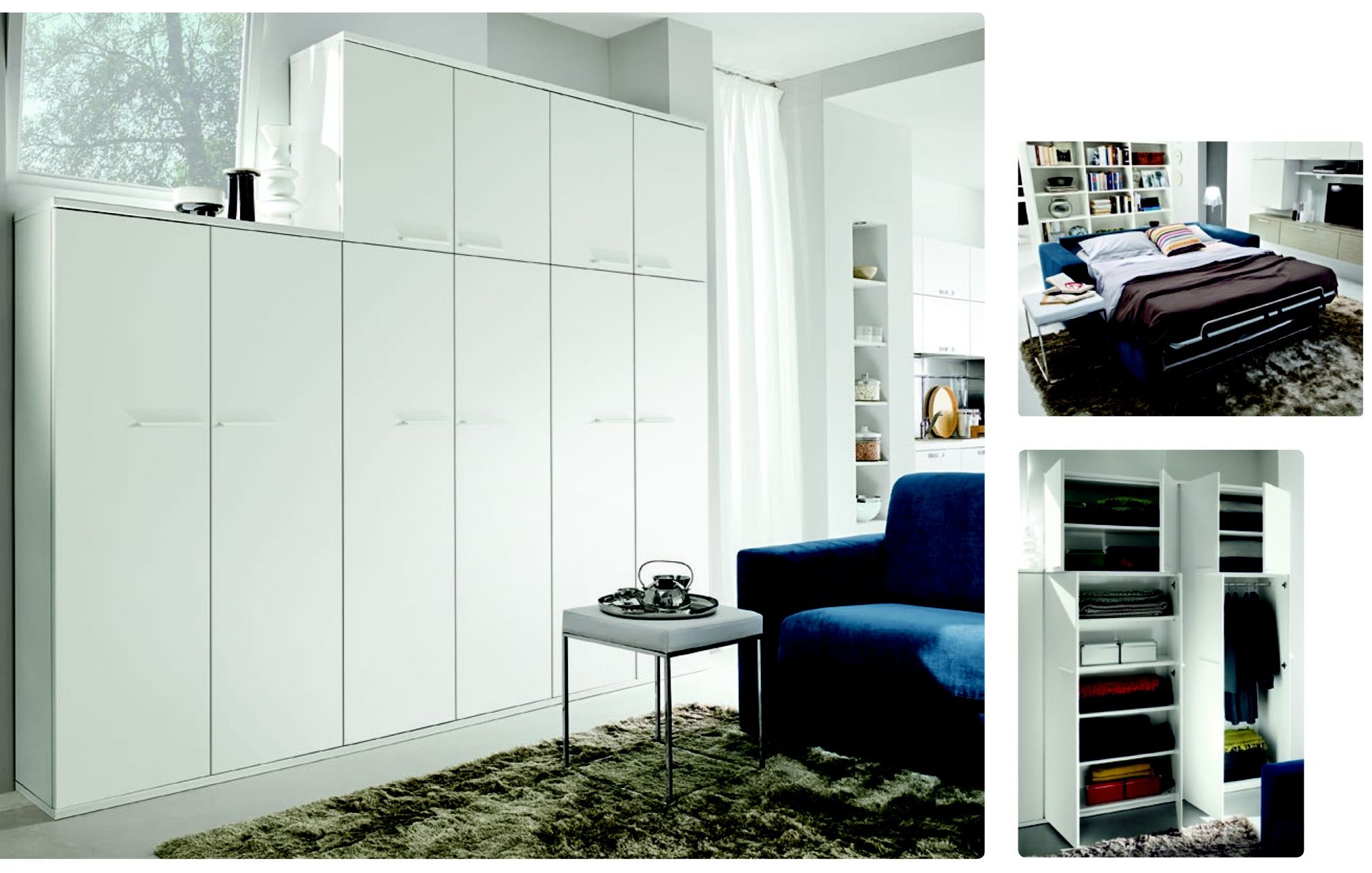 Comp arredamento monolocale 30mq soluzione for Arredamento appartamento completo
