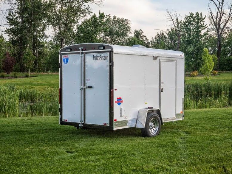 85 x 20 carryon 10k drive over deck utility trailer