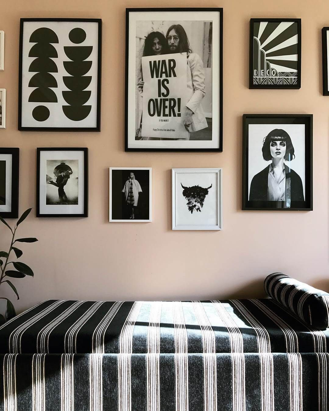 Master bedroom gallery wall  How to Hide or Improve the Ugly Bits of Your Home  Gallery wall Uk