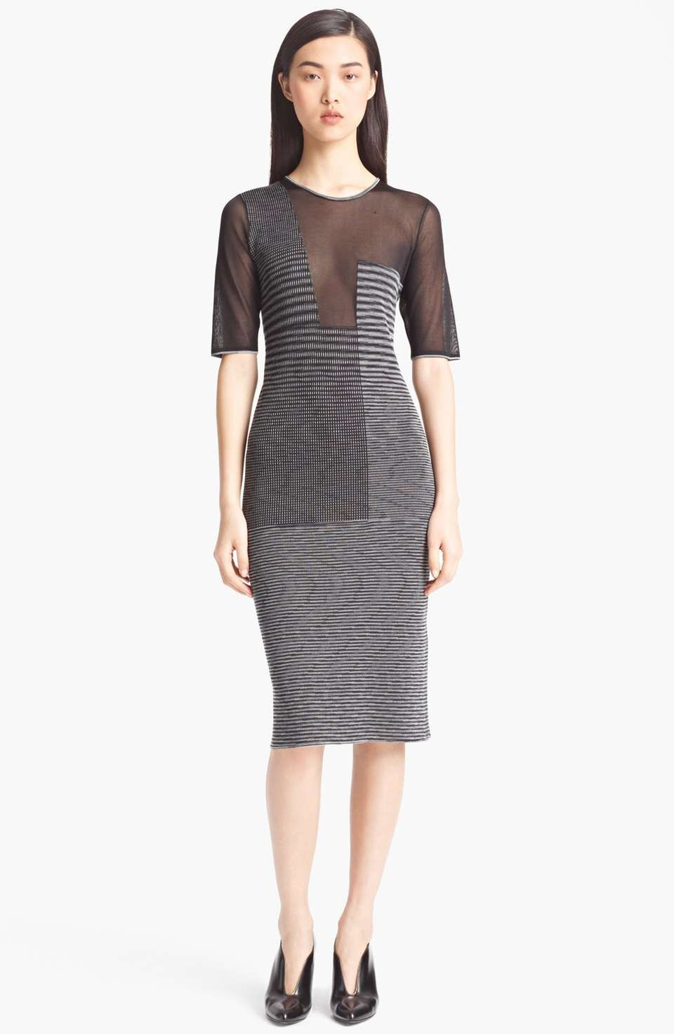 Missoni Sheer Panel Dress on Wantering   $1185   sheer crazy gifts ...