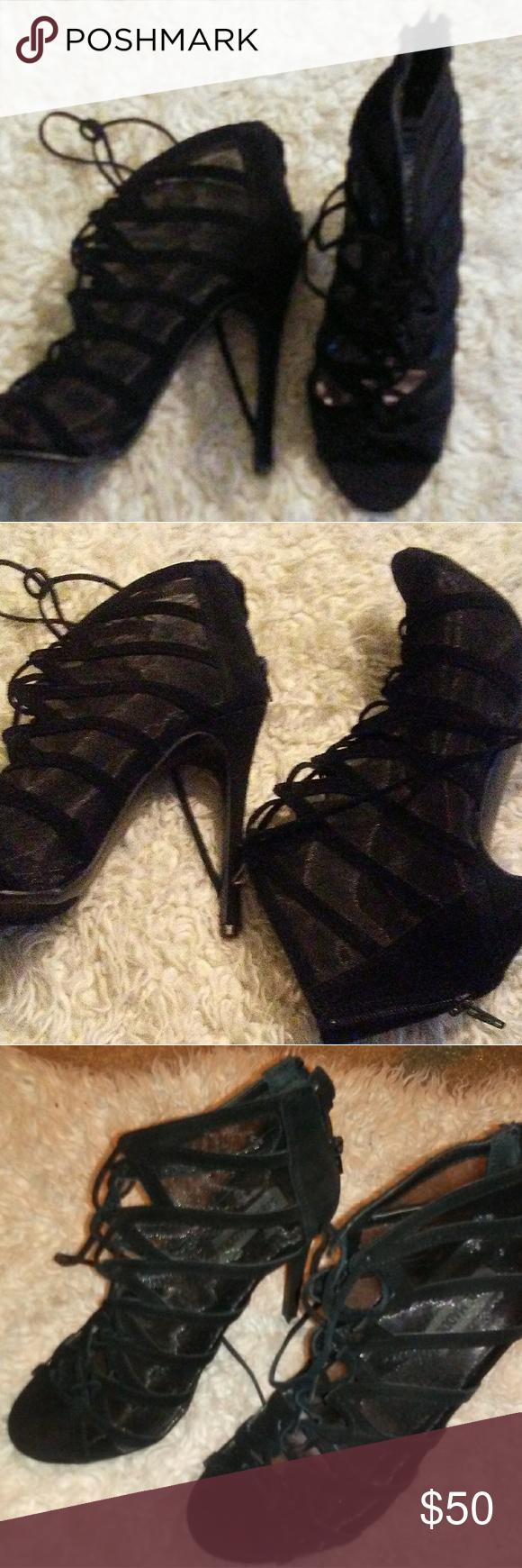 Escudriñar De este modo pronto  Steve Madden Suede and Mesh pump | Steve madden, Shoes women heels, Steve  madden shoes heels