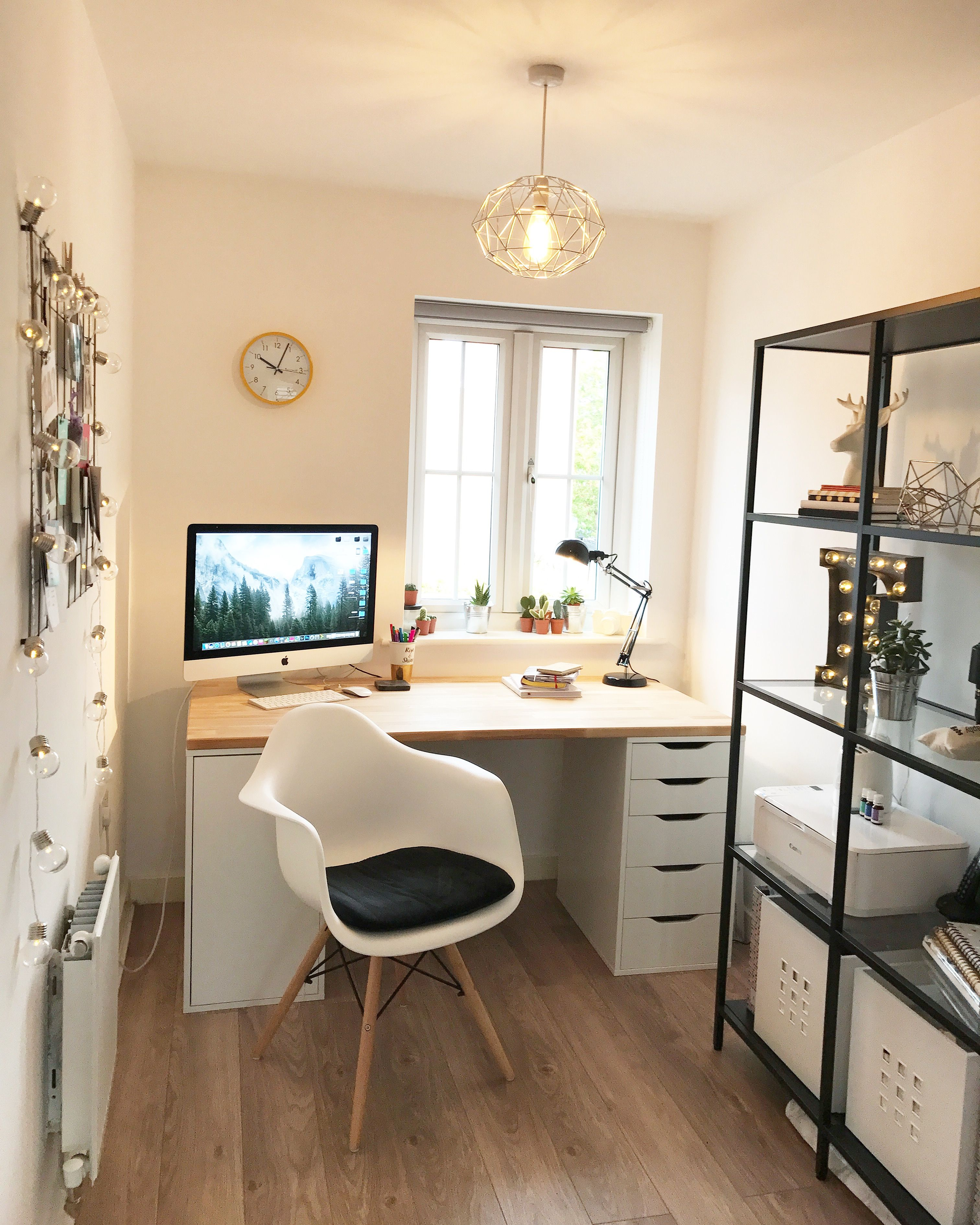 Ikea gerton desk lugares home pinterest escritorios - Armarios oficina ikea ...