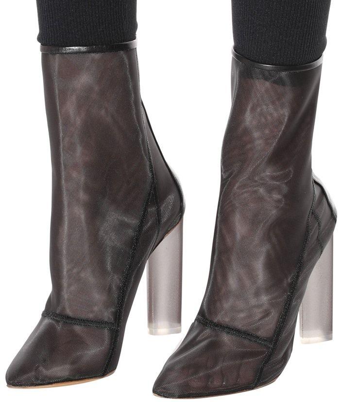 fe8c7678c Yeezy Mesh Ankle Boots (Season 3)