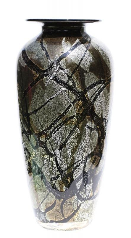 Savoy Gold Amphora Jonathan Harris Studio Glass Studio