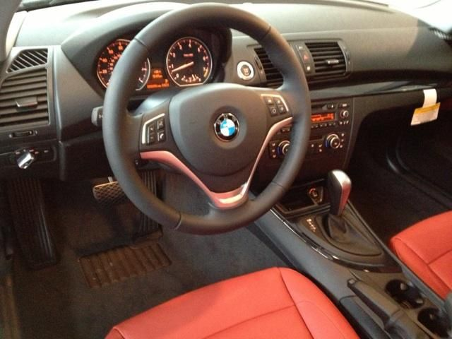 Awesome Coral Red interior!! 2013 BMW 128i BMWRockville