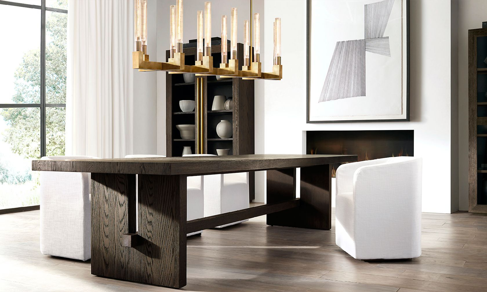 Restoration hardware dining room - Introducing The Pacamara Dining Table Collection