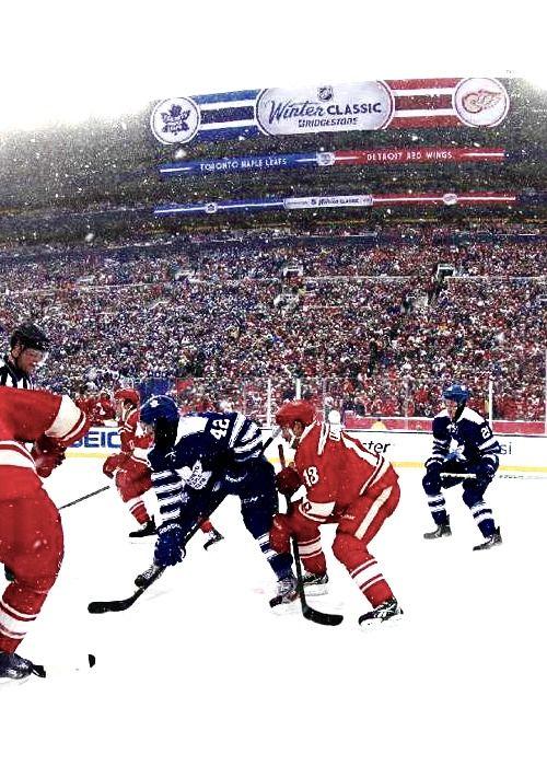 Winter Classic 2014 Toronto Maple Leafs Vs Detroit Red Wings Detroit Red Wings Hockey Red Wings Hockey