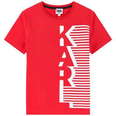 cdb7a377a Karl Lagerfeld Kids - Karl Mini Me T-shirt - 203922 | OH BOY | Karl ...