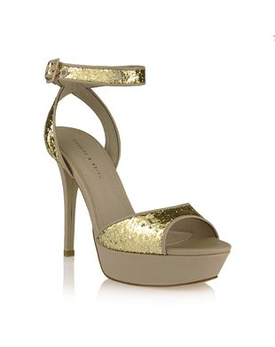 dd974408c977 Party Wear Ankle Strap Stilettos Charles and Keith High Heel Sandal ...