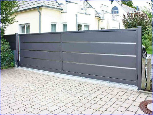 schiebetor n rnberg outdoor design fences pinterest. Black Bedroom Furniture Sets. Home Design Ideas