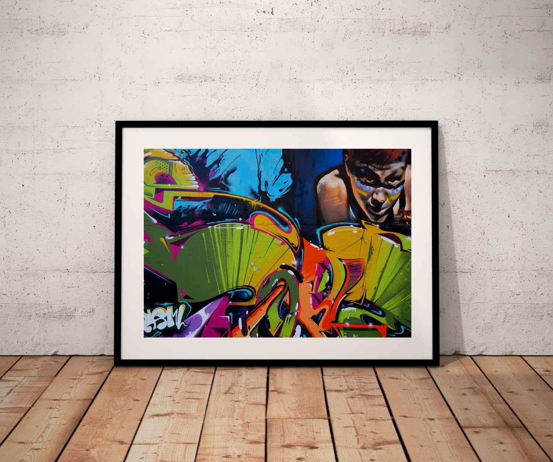 Graffiti art home decor - Graffiti Art Poster Modern Art Decor Home Decor Wall Art Digital