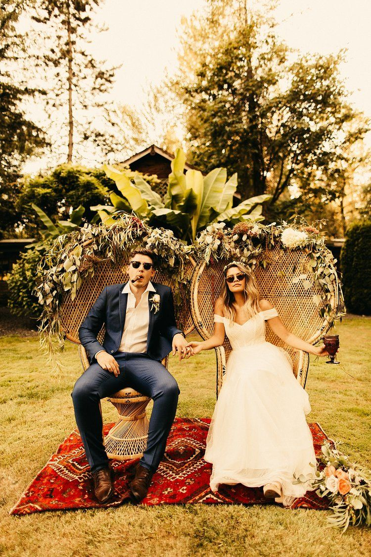 Tropical Boho Wedding at Maroni Meadows — Oregon Wedding Photographer - Andie Avery Photography