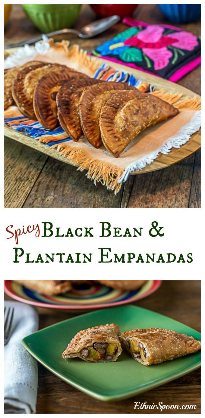 Black bean and plantain empanadas recipe empanadas tapas and black bean and plantain empanadas forumfinder Choice Image