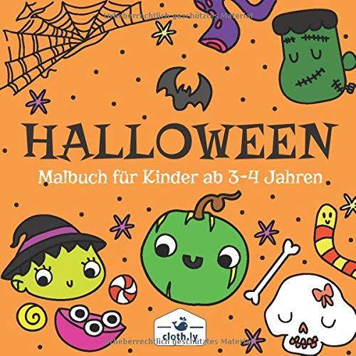 halloween malbuch kinder ab 34 jahren malbuch für kinder